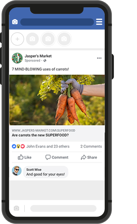Facebook Ads - Formato imagen